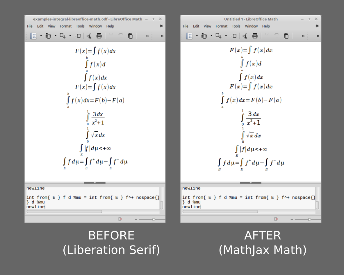 ubuntu libreoffice windows fonts