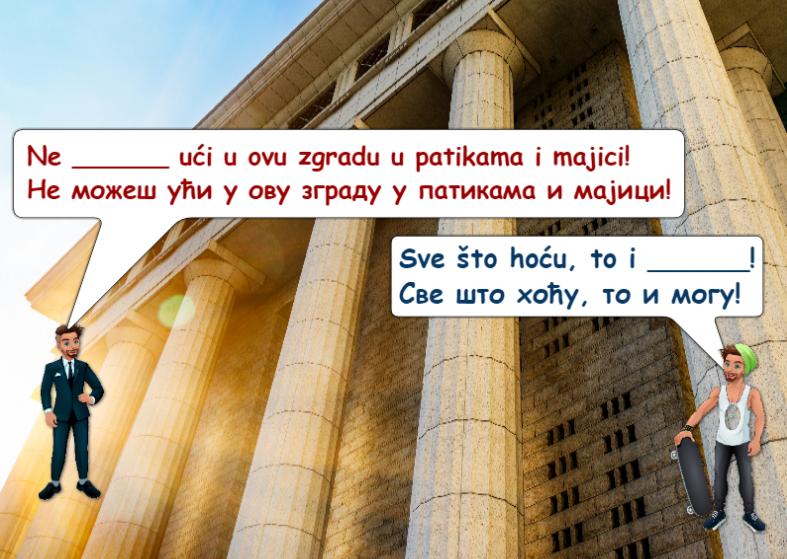 Modal Verbs in Serbian - Can 2