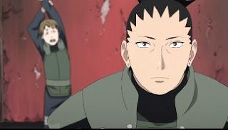 """Naruto Shippuuden – Episódio 489 – """"História do Shikamaru – Uma Nuvem Vagando Pelo Tácito Escuro, Parte 1: O Estado dos Negocios."""""""