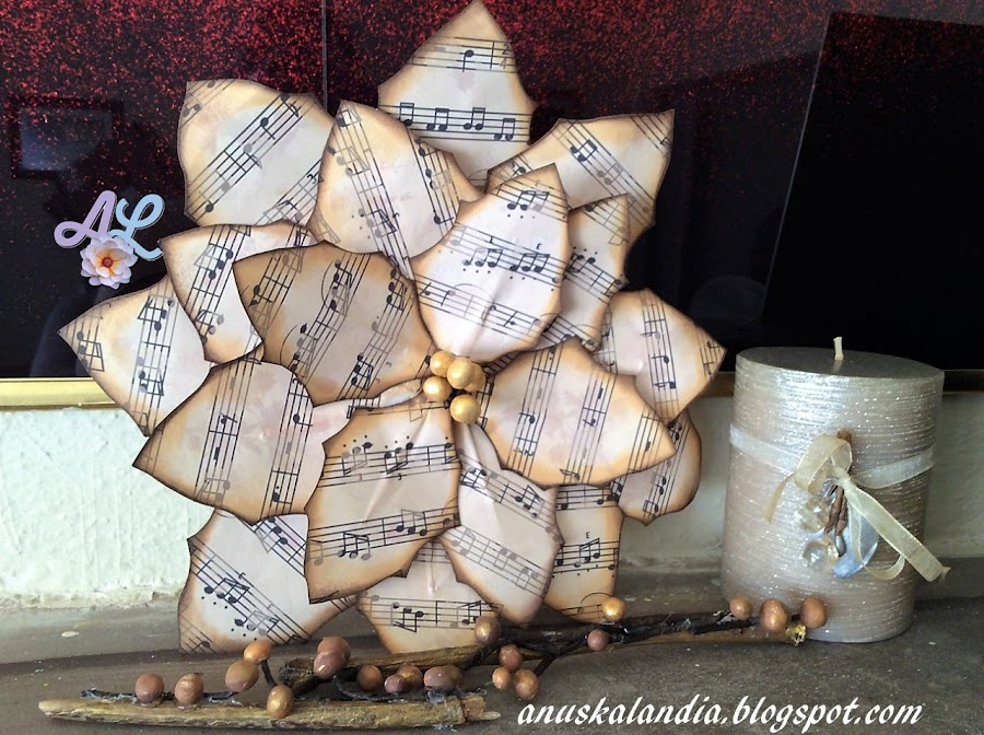 Poinsettia-o-flor-de-pascua-con-cartulina-y-notas-musicales-Anuskalandia