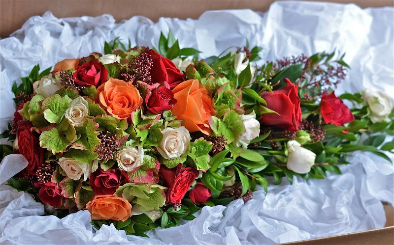 Wedding Flowers Blog: Sarah\'s Autumn Wedding Flowers, Rhinefield House