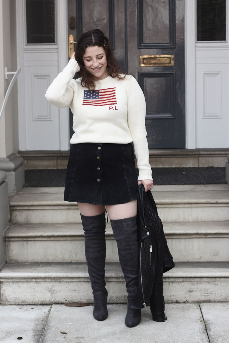 Ralph Lauren US flag jumper | www.itscohen.co.uk