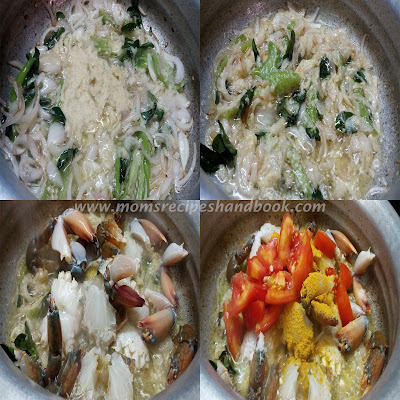 crab curry recipe andhra style