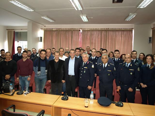 Ολοκληρώθηκαν οι ενημερωτικές επισκέψεις ψυχολόγου της Ελληνικής Αστυνομίας σε αστυνομικές Υπηρεσίες της Πελοποννήσου