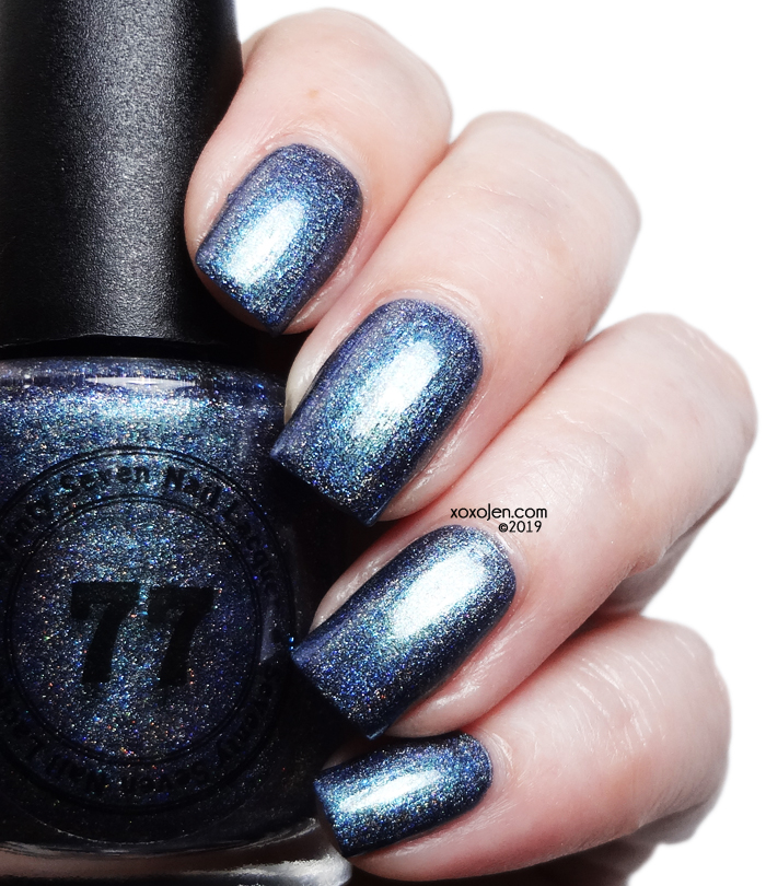 xoxoJen's swatch of Seventy Seven Nail Lacquer Feed Your Head