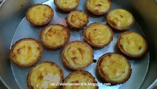 3 cheeses tarts