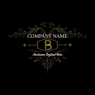 Letter B Fancy Logo Template Free Download Vector CDR, AI, EPS and PNG Formats