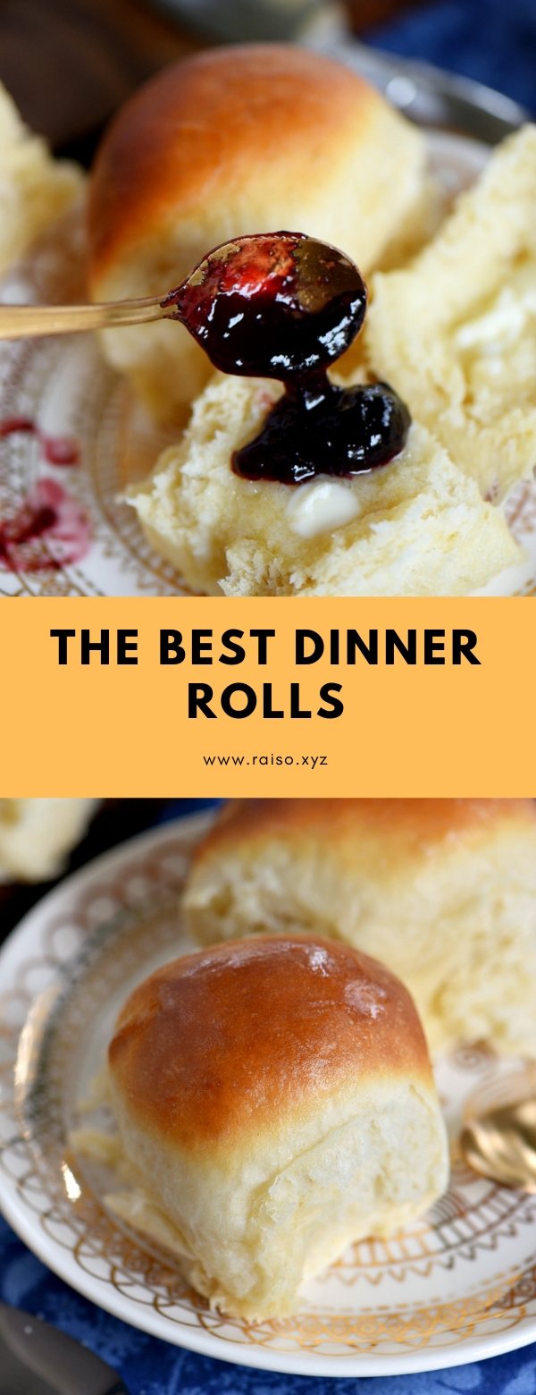 The BEST Dinner Rolls #dinner #bread #sidedish