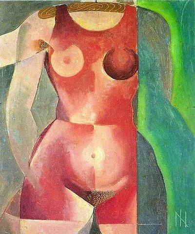 "Nu no Cabide - Ismael Nery e suas pinturas ~ O ""Pintor Maldito"""