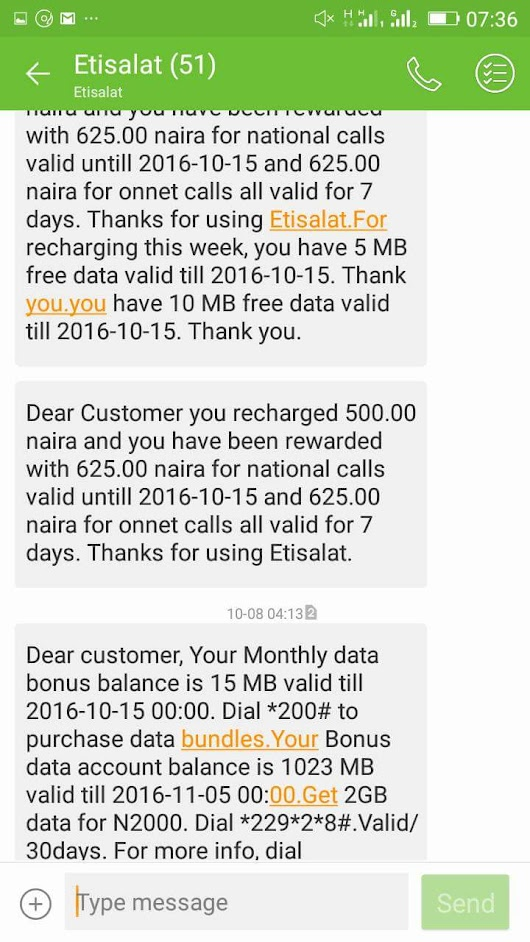 See How To Get Free 1gb Data On Your Etisalat Sim  - News,Gossip,Education,Tech and Entertainment – Latest Updates in Nigeria and Around the World