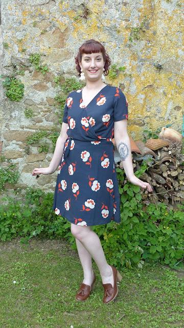 look vintage années 70 robe mademoiselle r