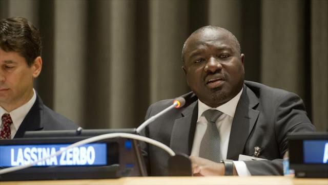 Lassina Zerbo, secretario ejecutivo de la Organización del Tratado de Prohibición Total de Ensayos Nucleares (CTBT, en inglés).