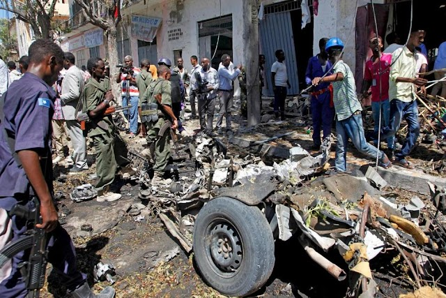 11 Killed In Car Bomb Blast In Mogadishu Somalia