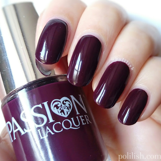 'Antique Amethyst' by Passion Lacquer, swatch by polilish