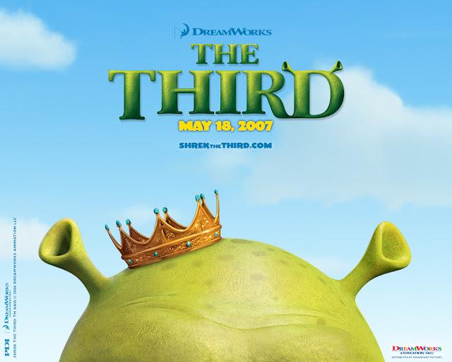 Shrek the Third (2007) Alternate Shrek poster showing opening date