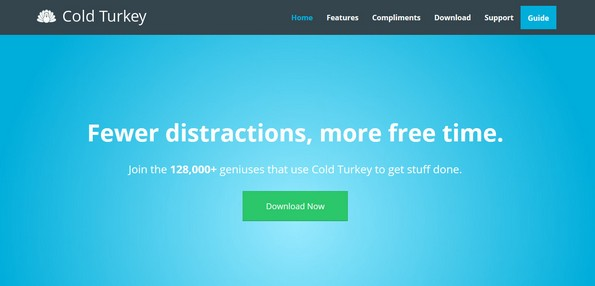 Cold Turkey productivity app