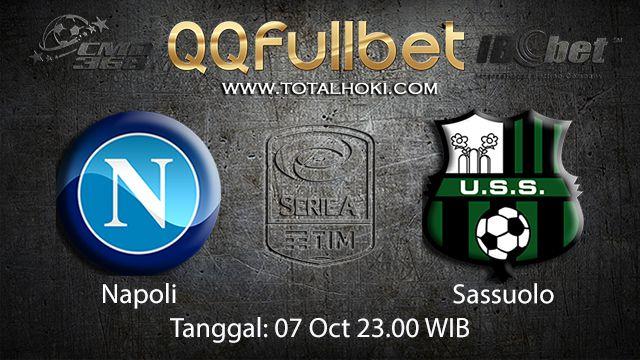 Prediksi Bola Jitu Napoli vs Sassuolo 07 October 2018 ( Italian Serie A )