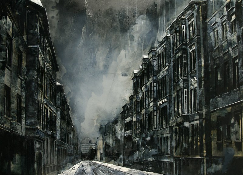 07-Furrow-Mark-Thompson-Austere-and-Desolate-Cityscapes-Paintings-www-designstack-co