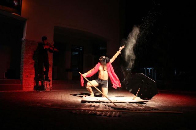 Tony Broer dalam Festival The Power of Art 2016-teraSeni