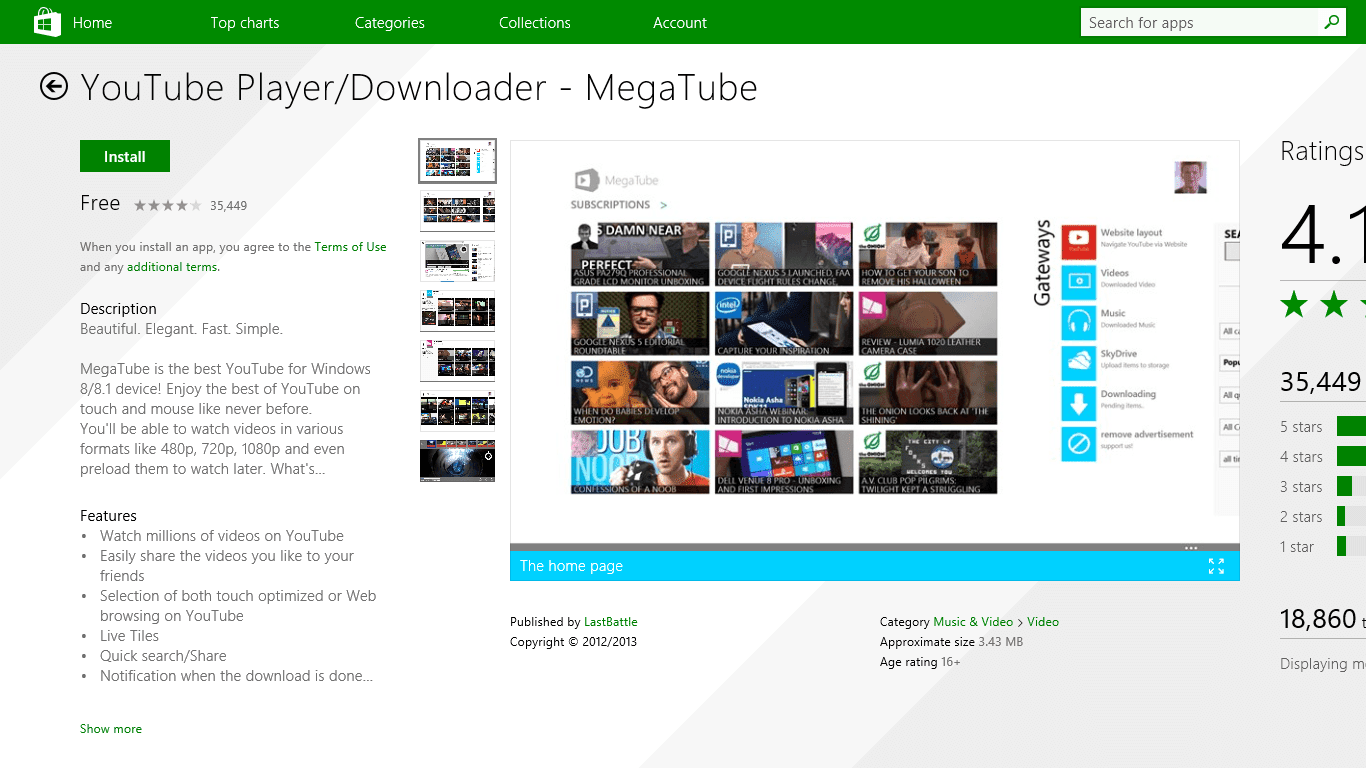 Tube Video Downloader For Windows 8