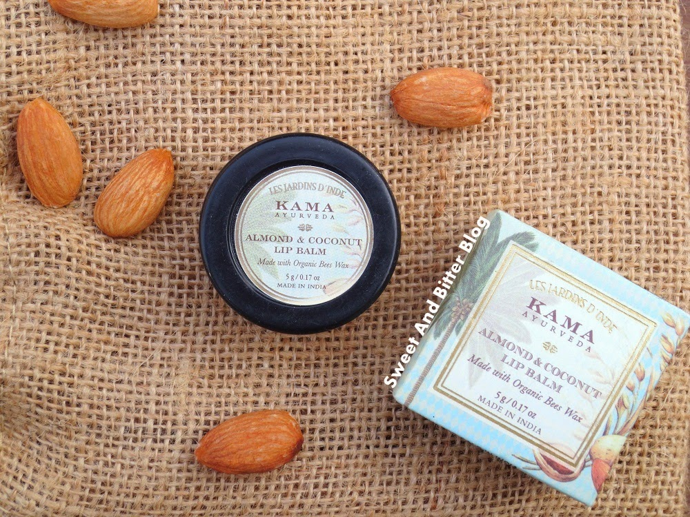 Kama Ayurveda Almond & Coconut Lip Balm with Organic Bees Wax Review
