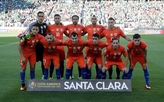 Formación de Chile ante México, Copa América Centenario, 18 de junio de 2016