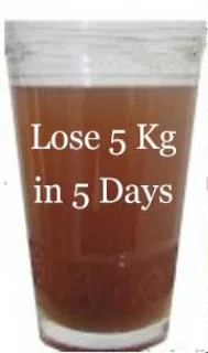 Consume This Mixture For 5 Days And You'll Surely Lose Up To 5 KG! It Just Easy To Prepare!