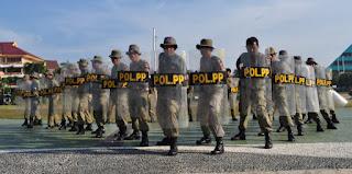 285 Personil Satpol PP dan WH Aceh di-BKO kan Ke Daerah