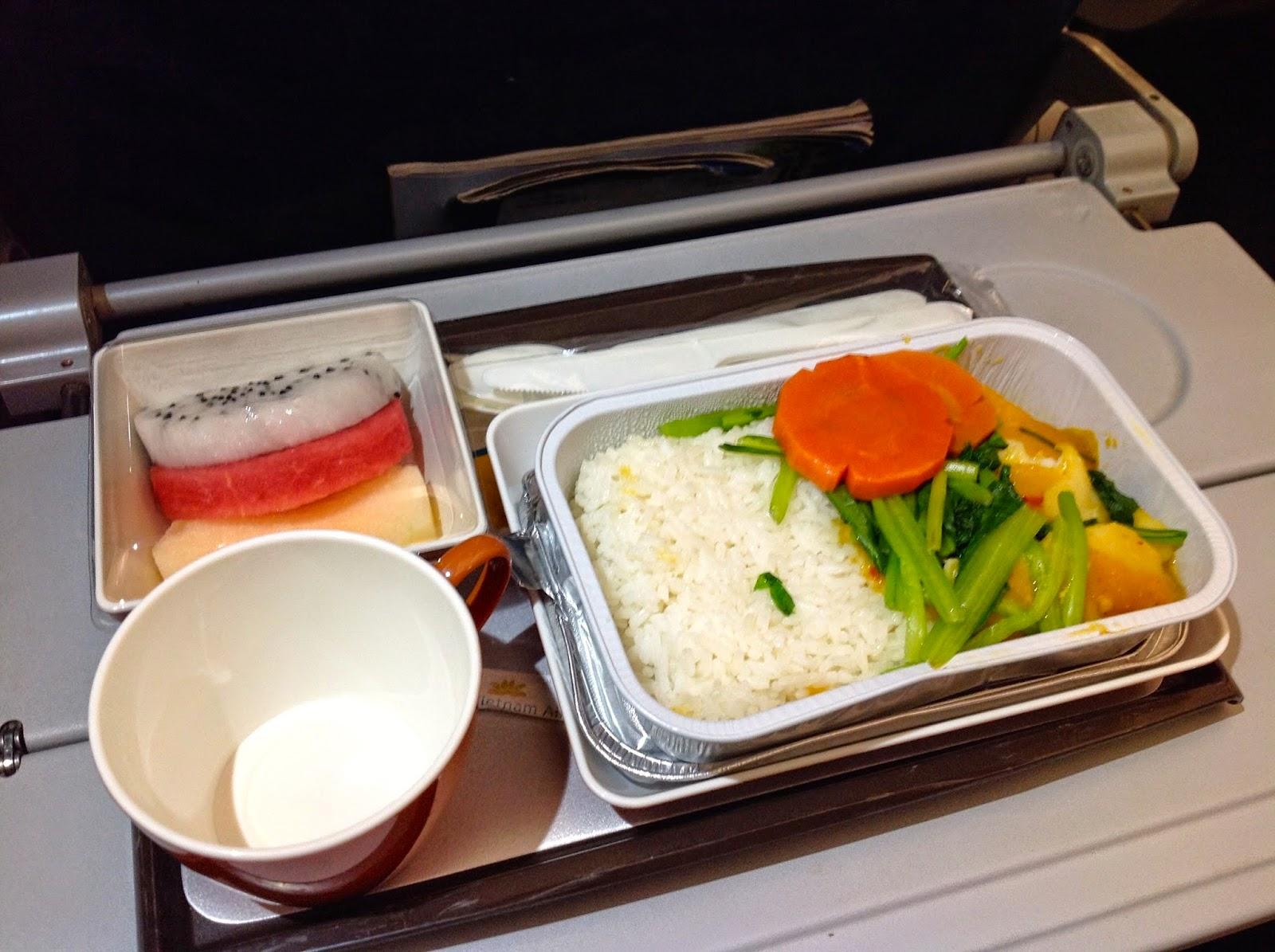Vietnamairline-flight-meal