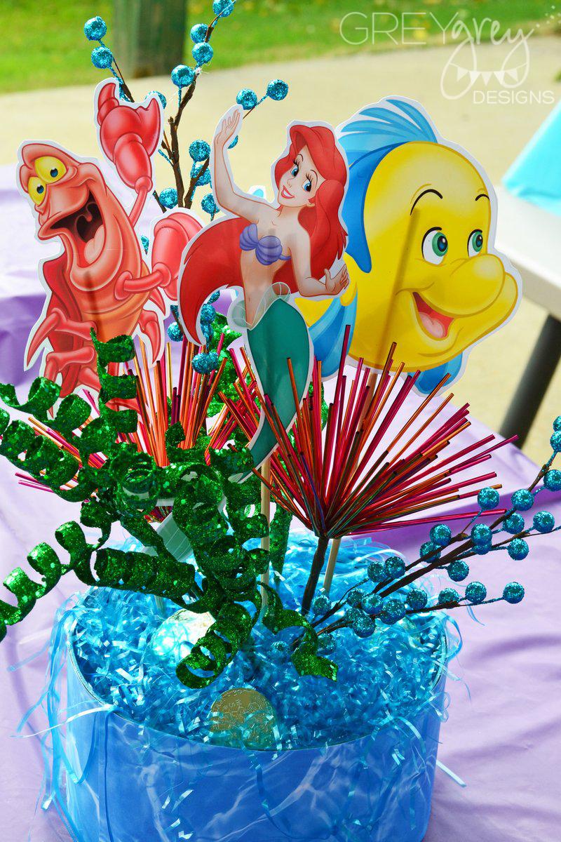 GreyGrey Designs: {My Parties} The Little Mermaid Party