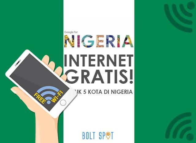 Google Nigeria Berencana Memberikan Akses Internet Gratis Untuk 5 Kota di Nigeria