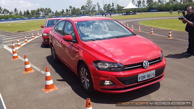 VW Virtus 2018 obtém cinco estrelas no Latin NCAP