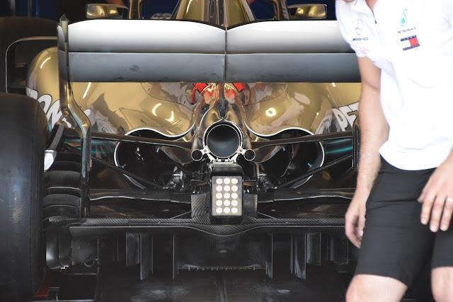 Mercedes W09 Lewis Hamilton - Foto MotorLat