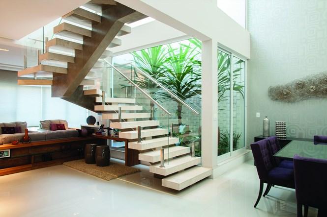 252 Ideas de escaleras modernas para el interior de la casa