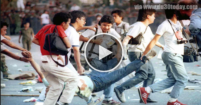WATCH: The Brutal 1987 Mendiola Massacre ordered by Pres. Cory Aquino!