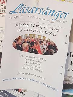 Läsarsånger i Sjövikskyrkan