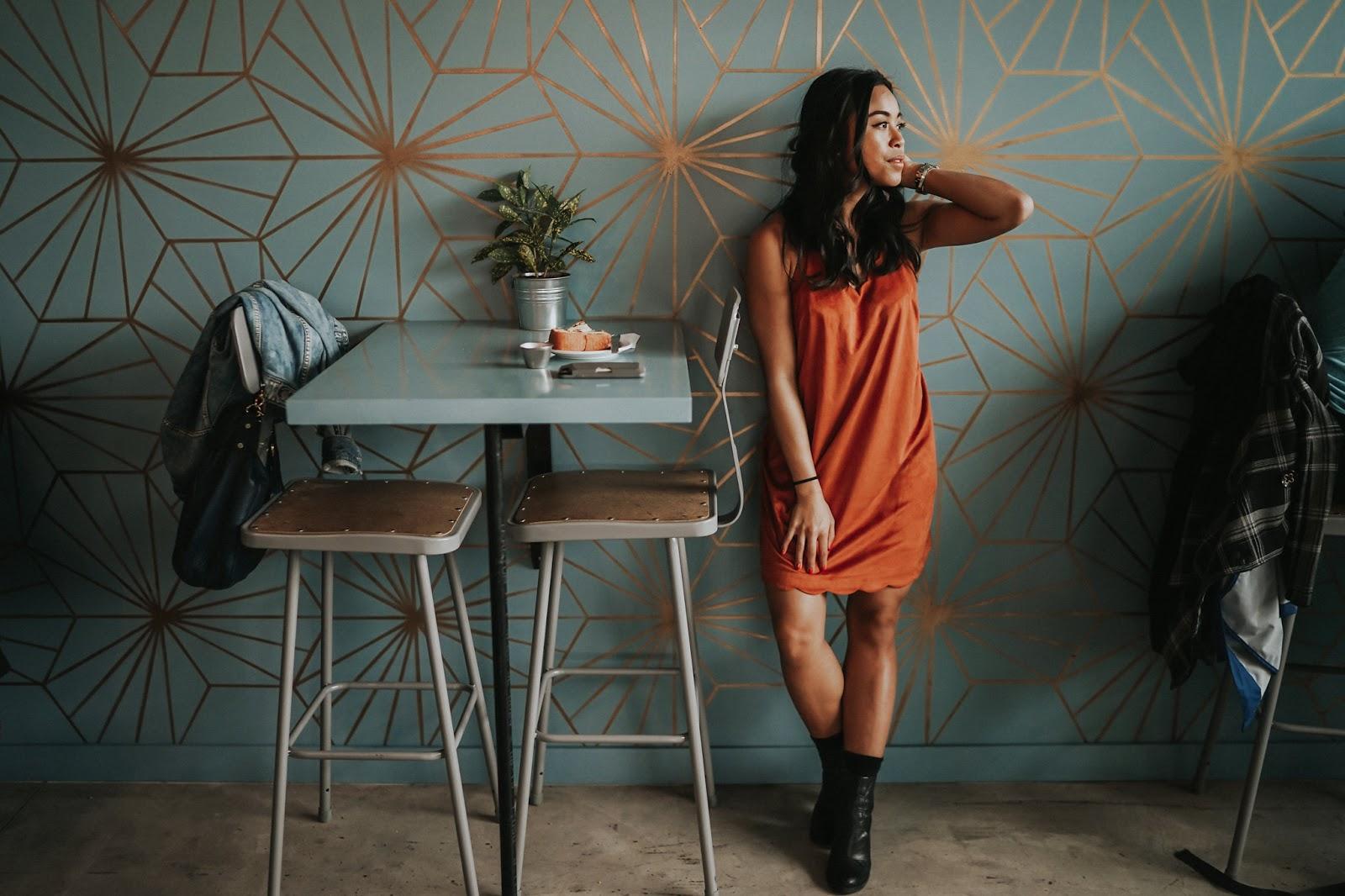 A Velvet Dress
