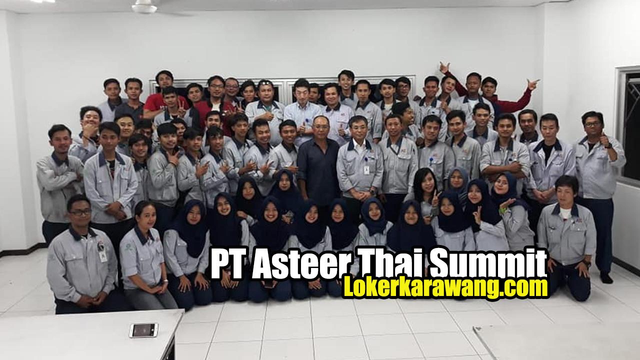 Lowongan Kerja PT Asteer Thai Summit Karawang