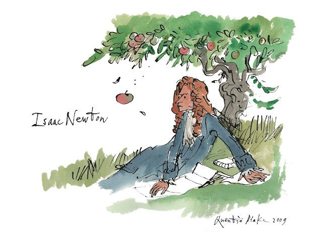 Isaac Newton quem formulou a teoria da Gravidade
