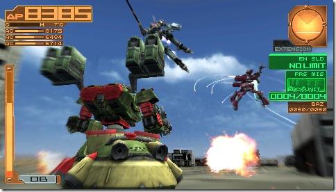 Armored Core 3 Portable screenshot 1