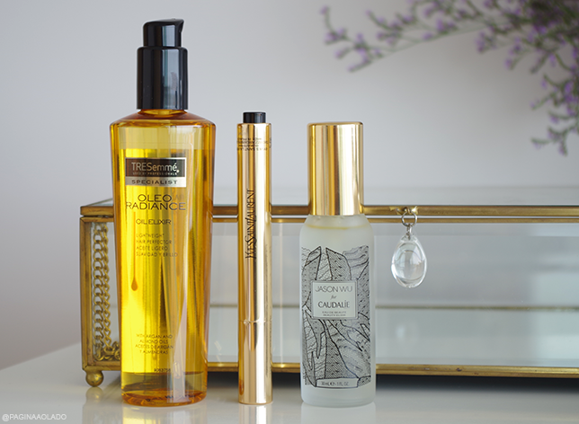 Makeup Beauty Cosmetics Trends YSL Caudalie Tresemmé oil hair