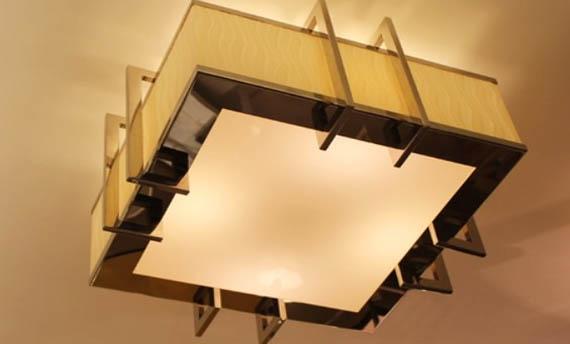 Model Lampu Plafon Tempel Ruang Tamu Kecil