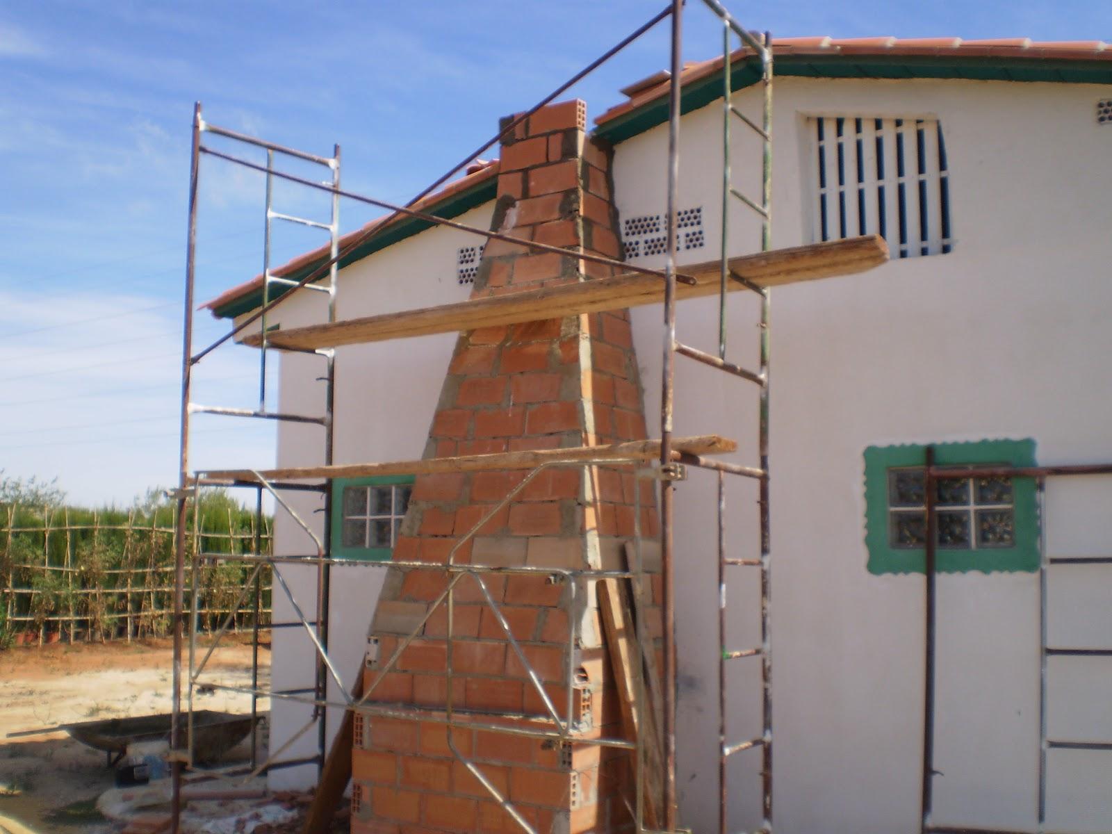 El blog de la elena un blog dulce divertido y entretenido como construir chimenea de ladrillos - Como se hace una chimenea ...