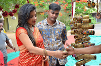 Sakshi Agarwal  in Orange Saree at Inauguration of Handloom And Handicraft exhibition ~  Exclusive 27.JPG