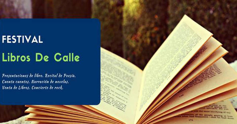libro abierto para promocionar el festival de libros