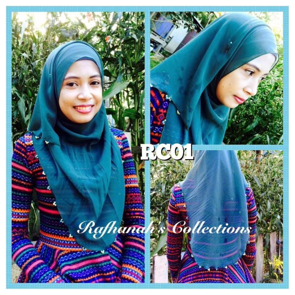 Plain Shawl Raya Rafhanah's Collection