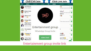 Entertainment group invite link