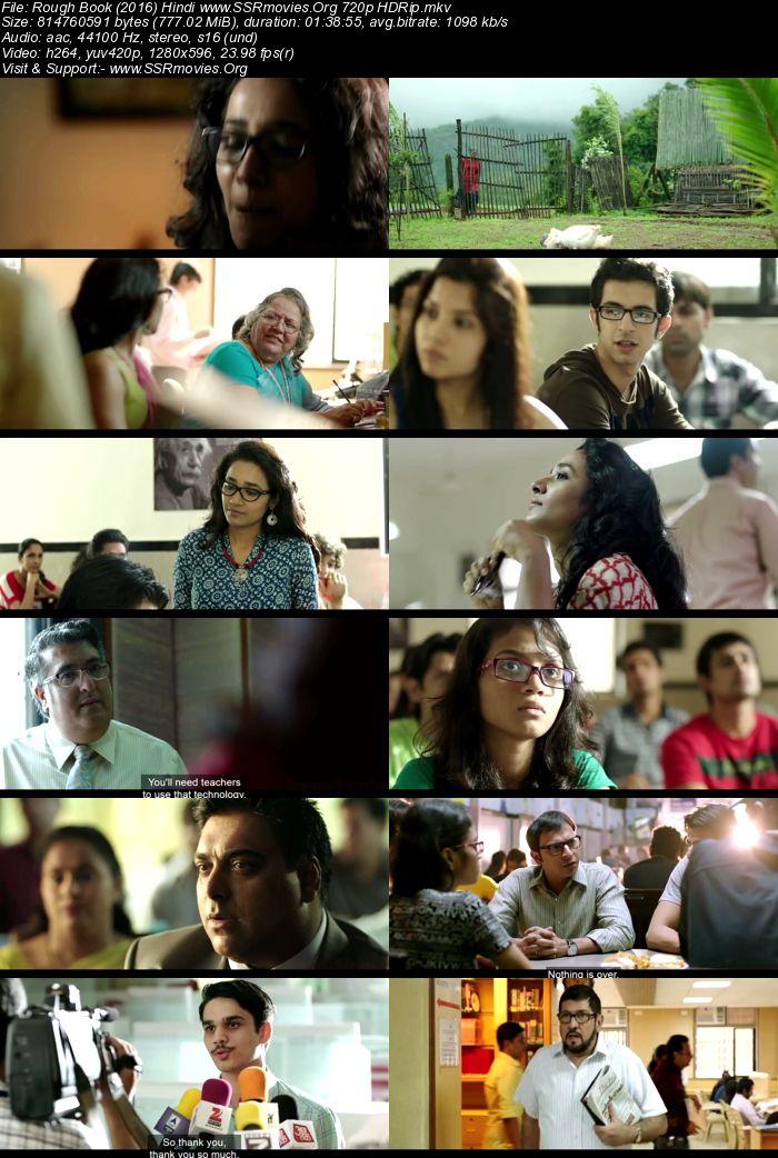 Rough Book (2016) Hindi 720p HDRip