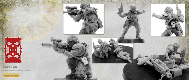 The Final Drop.... Elysian Drop Troops Move to Last Chance to Buy!