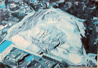 稲城市の大丸城跡発掘写真